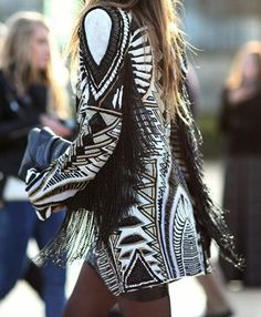 15 chic-as-hell ways to wear fringe this fall