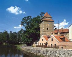 České Budějovice - river Malše