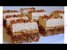 Prajitura Parlament - Adygio Kitchen - YouTube Scottish Recipes, Turkish Recipes, Ethnic Recipes, Romanian Desserts, Romanian Recipes, Romania Food, Good Food, Yummy Food, Healthy Food