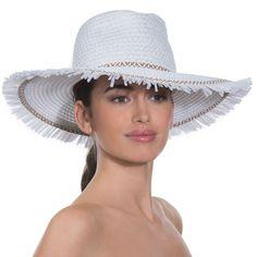 f81207bc99c Eric Javits Luxury Fashion Designer Women s Headwear Hat - Havana - White  Mix  EricJavits