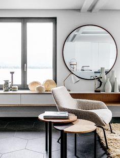 77 Oversized Round Mirrors Ideas Oversized Round Mirror Round Mirrors Interior