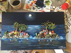 #goestoMalta#lovesfromistanbul#vscoart #instaart #unique #handmade #stonepainting #pebblepainting #paintedpebbles #paintedrocks #rockpainting #pebblepaint #colour #colourfull #rockpaintings #paintingrocks #stoneart #pebbleart#paintings#paintart#art#stonepaint#design