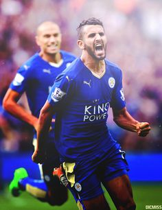 Naast Jamie Vardy is Riyad Mahrez natuurlijk ook een levende legende. Leicester City Football, Leicester City Fc, Football Is Life, Sport Football, Soccer League, Football Players, Jamie Vardy, Match Of The Day, Sports Personality
