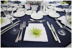 Miss. MP: The Chronicles of a Sassy Magnolia: Navy and White Wedding Ideas
