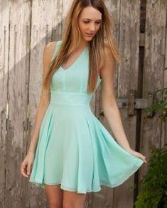 Love aqua dress