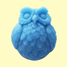 Mold Soap Mold Mould Silicone Mold Flexible Mold Cake Mold Owl Animal Mold.