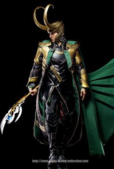 Norse God Loki brother of Thor detailed action figures from Hot Toys Avengers Loki Final Product. Action Figure Fury. Fantastic quality on this toy and a great addition to any marvel fans collection!