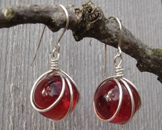 Marble crafts: marble earrings/jewelry!