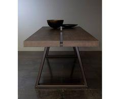 Spisebord, Nyt, Massiv 45 mm, Plankebord, eg, røget eg