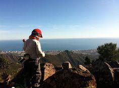Vista desde el Desierto de las Palmas, en Benicàssim, Castellón