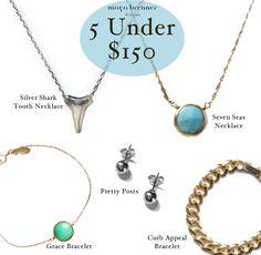 Maya Brenner: 5 Under $150
