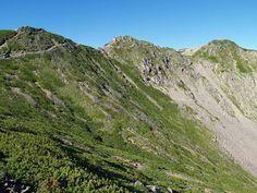 小仙丈尾根から仙丈ヶ岳|南アルプス登山ルートガイド。Japan Alps mountain climbing route guide