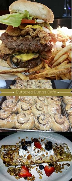 Whether you're in search of a breakfast, lunch, or dinner destination, Buttered Bunn's Cafe' in Miami does not disappoint! With homestyle cooking to satisfy any taste, you can bet your first trip won't be your last! Be sure to try one of their fresh baked cinnamon rolls with your meal or grab a couple for the road!