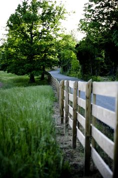 ...traveled down many roads like this one.  Loved those narrow country roads<3