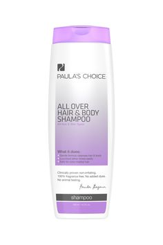 """Hair & Body Shampoo - """"This is the ONLY cleanser I have found that cuts through water/sweat resistant sunscreen after I run. I have tried several Paula recommended cleansers and none of them clean off old gummy sunscreen after a workout. While I don't use it for shampoo purposes, it's the best and only product that's worked for me and without irritation too."""""""