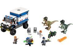 LEGO JURASSIC WORLD 75917 Raptorin riehunta