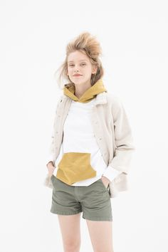 Visvim Spring 2018 Ready-to-Wear  Fashion Show Collection #colors #jacket