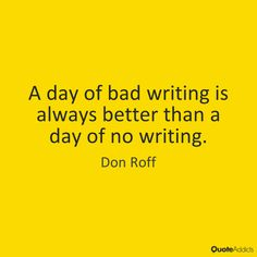 Quotes on Bad Writing | Quote Addicts