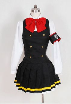 Camplayco Vocaloid Hatsune Miku New Version Uniform Cosplay Costume-made >>> For more information, visit image link.