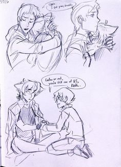Just some cute comic pictures of Klance None of these pictures are… # De Todo # amreading # books # wattpad Voltron Comics, Voltron Memes, Voltron Fanart, Klance Cute, Cute Gay, Voltron Ships, Voltron Klance, Form Voltron, Klance Comics