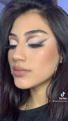 Eye Makeup Steps, Makeup Eye Looks, Creative Makeup Looks, Skin Makeup, Brown Makeup Looks, Sexy Eye Makeup, Party Makeup Looks, Summer Makeup Looks, Matte Makeup