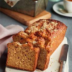 Apple Recipes, New Recipes, Cake Recipes, Sin Gluten, International Recipes, Banana Bread, Delish, Bakery, Food And Drink