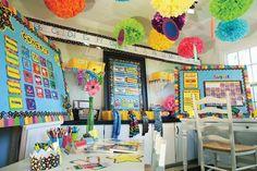 A Springtime-Themed Classroom | 30 Epic Examples Of Inspirational Classroom Decor
