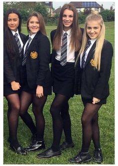 British School Uniform, School Uniform Images, Cute School Uniforms, School Uniform Fashion, School Uniform Girls, Girls Uniforms, Private School Uniforms, Private School Girl, School Girl Dress