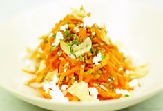 Evolution Carrot Salad (minus the greek cheese if you are dairy free)