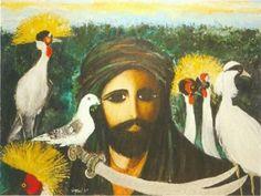 Turkish Painter Fikret Otyam