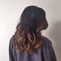Ombre is perfect if you really want your curls to get noticed. Curls and other hairstyles aren't really as much visible in black hair than with colored ones.