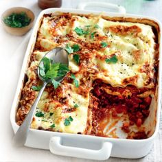 Vege lasagne - uses quorn mince - might try it