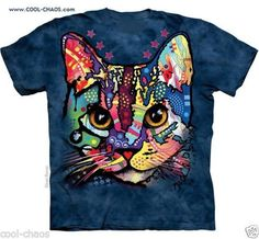 Calico Kitten Rainbow Kitty Cat T-Shirt
