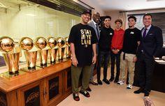 #NBA: LaVar Ball ve a todos sus hijos jugando a la vez en los Lakers