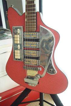 Zimgar vintage electric guitar