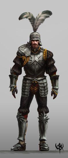 Knight or man-at-arms