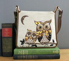 Vintage Enid Collins Owl Purse