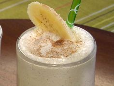 Bananas Foster Milkshake from FoodNetwork.com