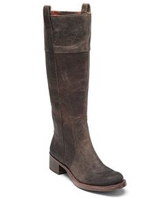 Lucky Brand Shoes, Hibiscus Boots - in the dark camel shade