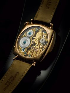 Blancier Handmade Rainbow Diamond Timepiece