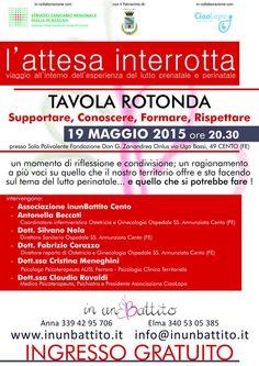 Associazione in un Battito | inunbattito.it | L'ATTESA INTERROTTA – Martedì 19 maggio 2015, ore 20.30