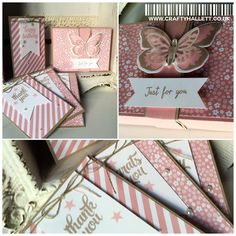 Stampin' Up! UK Independent Demonstrator Craftyhallett - A place to share pretty projects, tutorials and videos Stationary Box, Stampin Up Catalog, Butterfly Watercolor, Butterfly Cards, Fall Cards, Diy Cards, Handmade Cards, Digi Stamps, Stampin Up Cards
