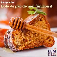 Prepare hoje mesmo este bolo funcional, delicioso, cheiroso e tudo de Bemglô <3