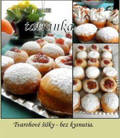 Tvarohové šišky bez kysnutia (fotorecept) - obrázok 10 Easter Recipes, Hamburger, Muffin, Bread, Dinner, Cooking, Breakfast, Spring, Basket