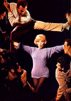 "infinitemarilynmonroe: """"Marilyn Monroe in Let's Make Love. "" """