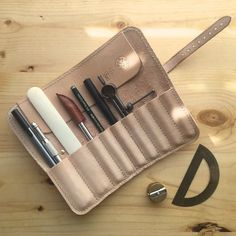 Wilfred A Handmade Leather Tool Roll / Pencil Case by madebynick:
