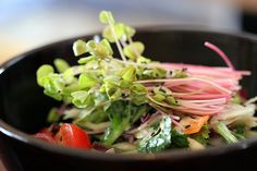 Baru - Summer salad. Buddhist Temple food