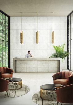 World's best lighting design ideas arrives at Milan's modern hotels @brabbu SAKI pendant