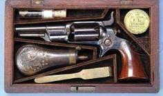 Colt Root 1849 revolver.