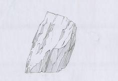 Drawing Rocks, Graphite Drawings, Realistic Drawings, Sketchbooks, Trees, 3d, Abstract, Artwork, Plants